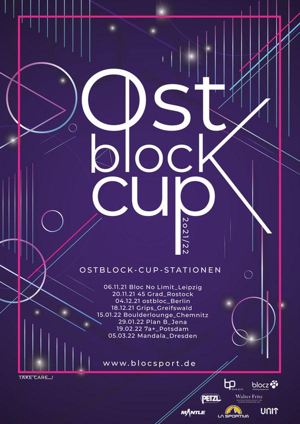 Plakat für Ostblock-Cup 2021/2022