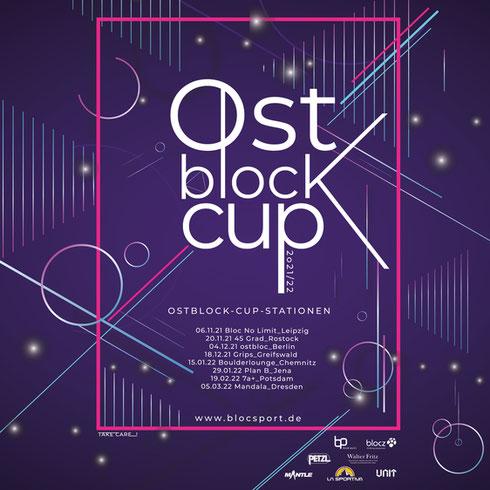 Poster of Ostblock-Cup 21/22 Boulderlounge