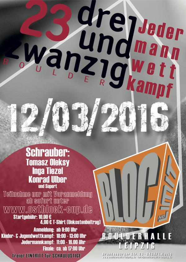 Poster of Station Leipzig - 23 Boulder