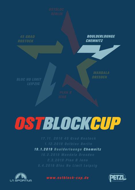 Poster of Ostblock-Cup 2018/19 Chemnitz