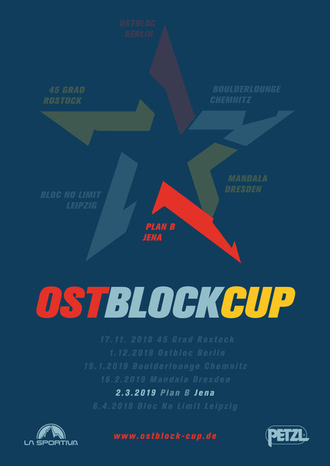 Poster of Ostblock-Cup 2018/19 Jena
