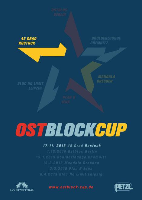 Poster of Ostblock-Cup 2018/2019 45 Grad (Rostock)